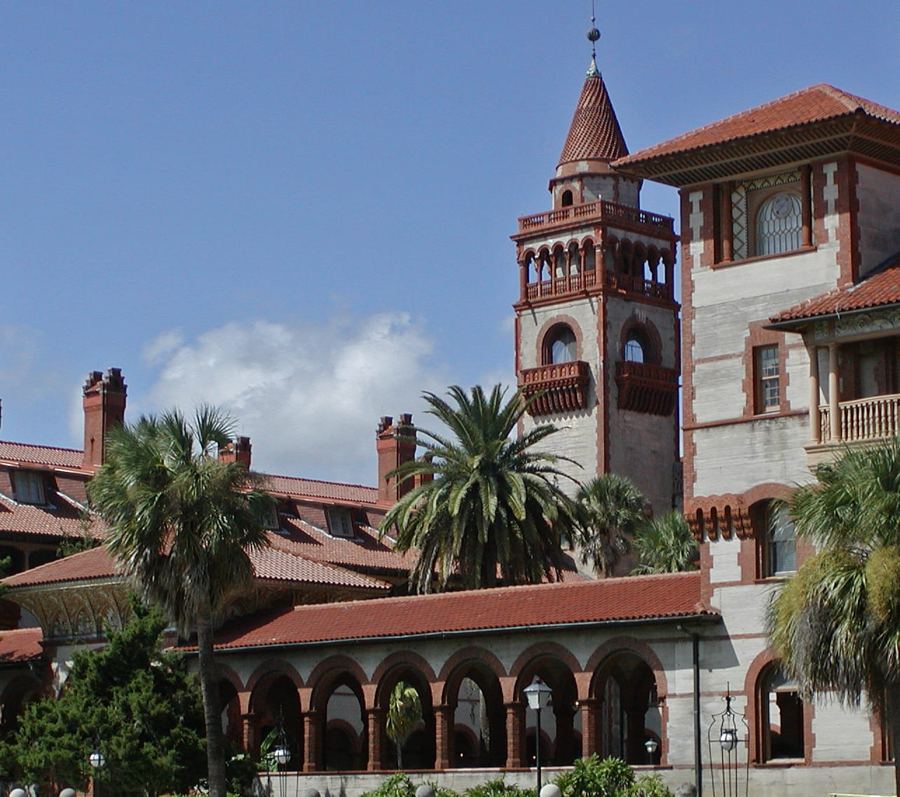 Flagler College Ludowici Roof Tile