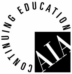 Ludowici continuing education AIA logo