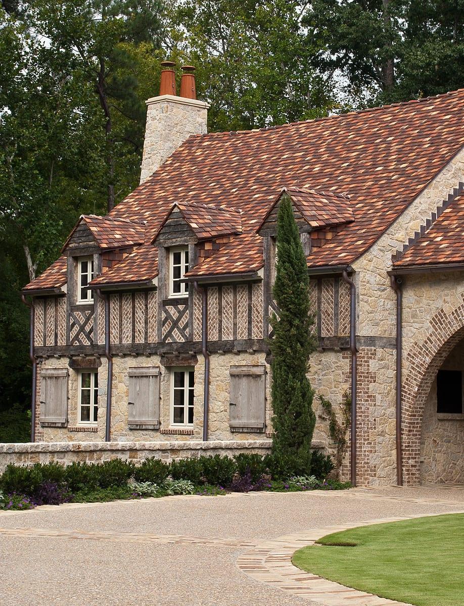 Atlanta Residence, Colonial Shingle Ludowici Roof Tile
