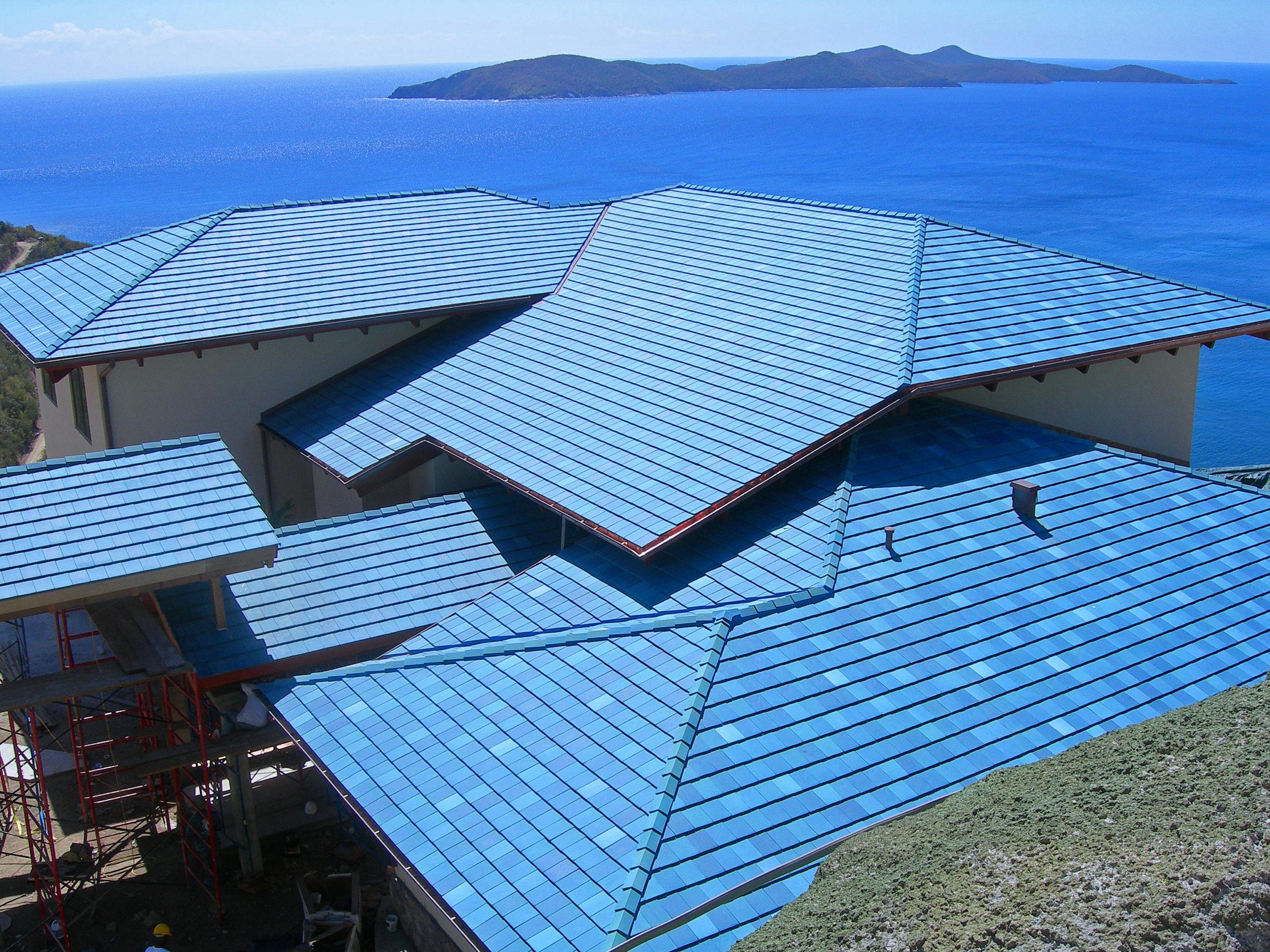 Falcon's Nest, Peter Island Resort & Spa Ludowici Roof Tile