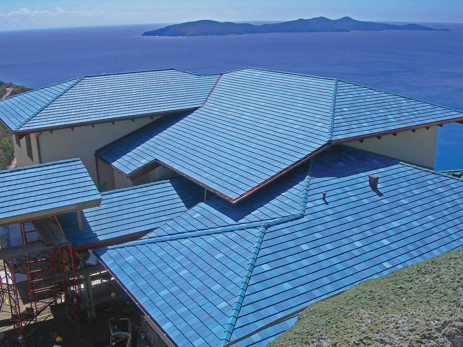 Mediterranean Blue | Ludowici Roof Tile