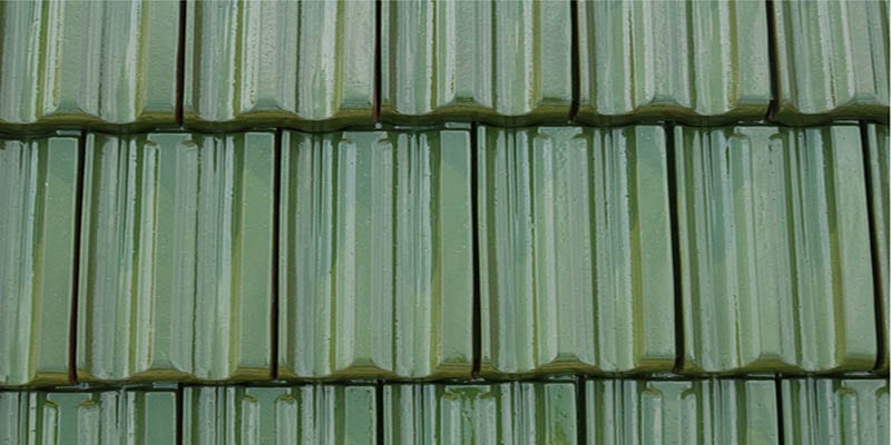 Brookville Green Single Spay Tile Color