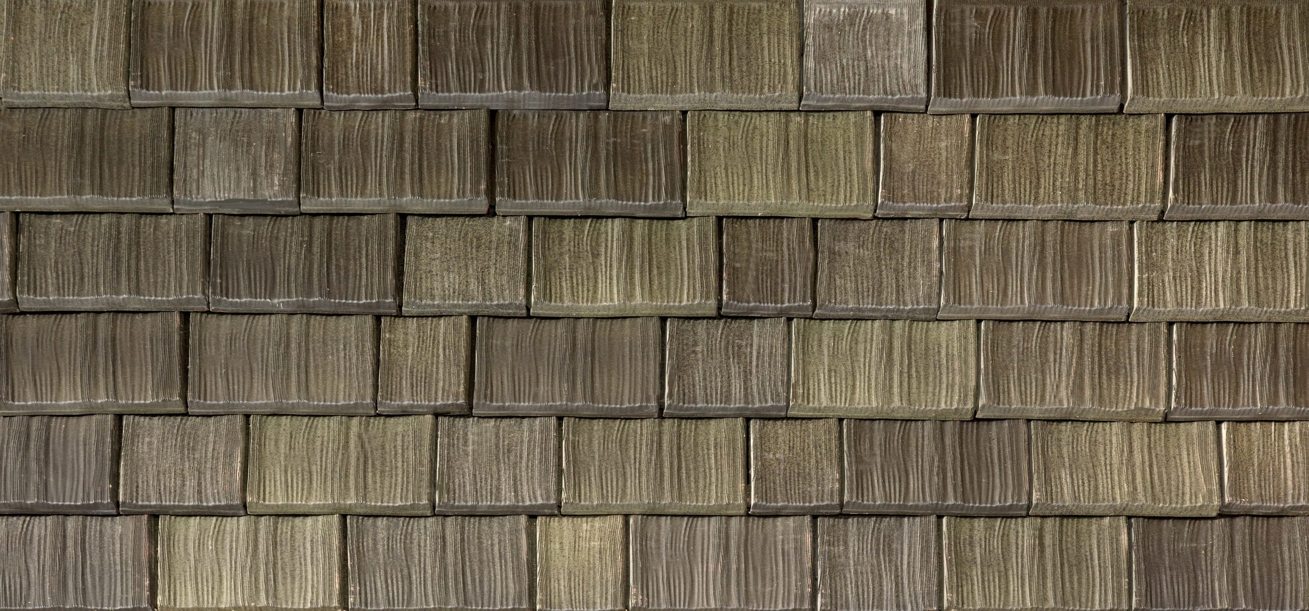 Aged Cedar Two-Spray Tile Color