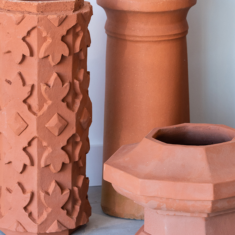 Chimney Pots & Wall Copings