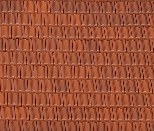 Clay Red Blend Unglazed Tile Color