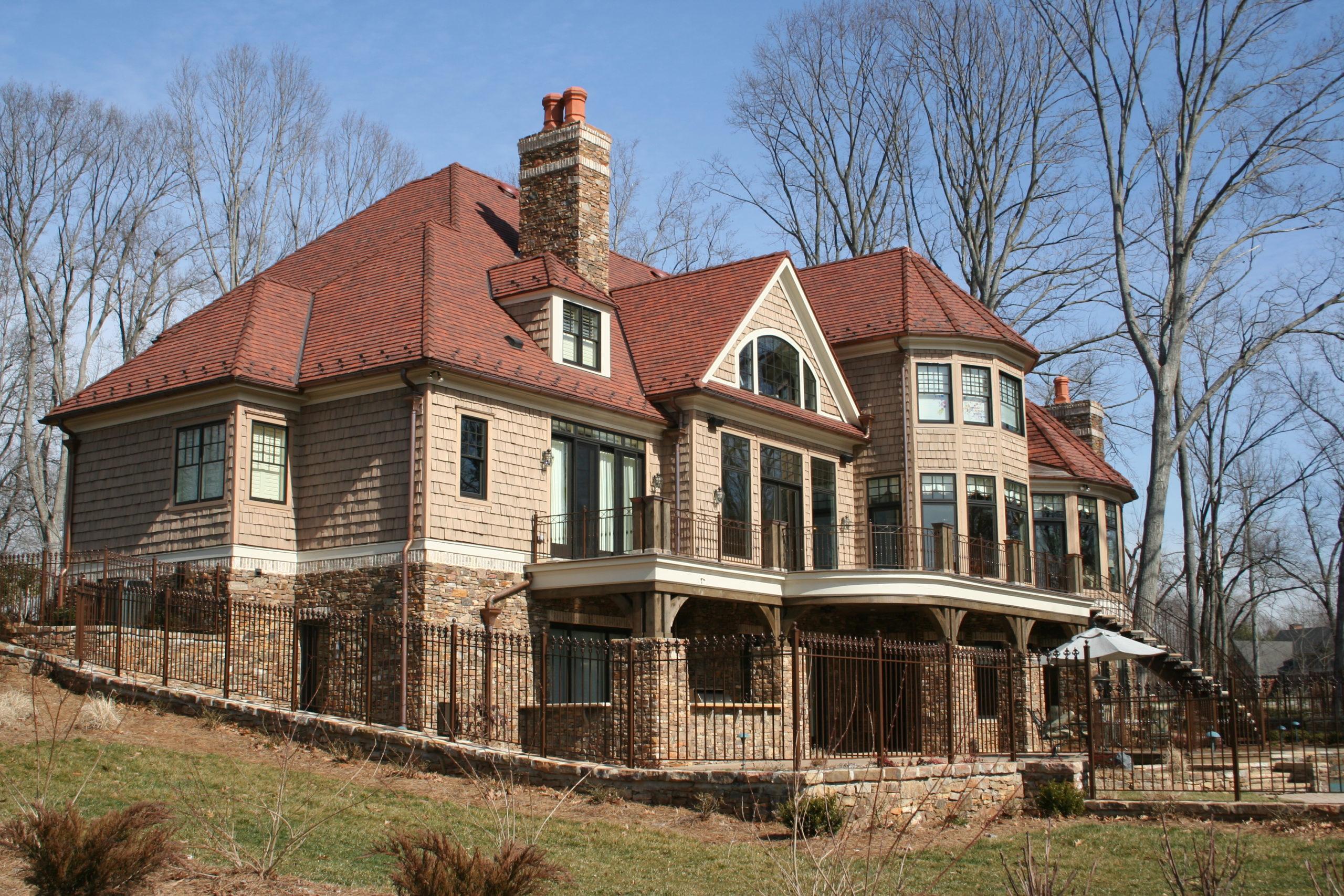 Winston-Salem Residence Ludowici Roof Tile
