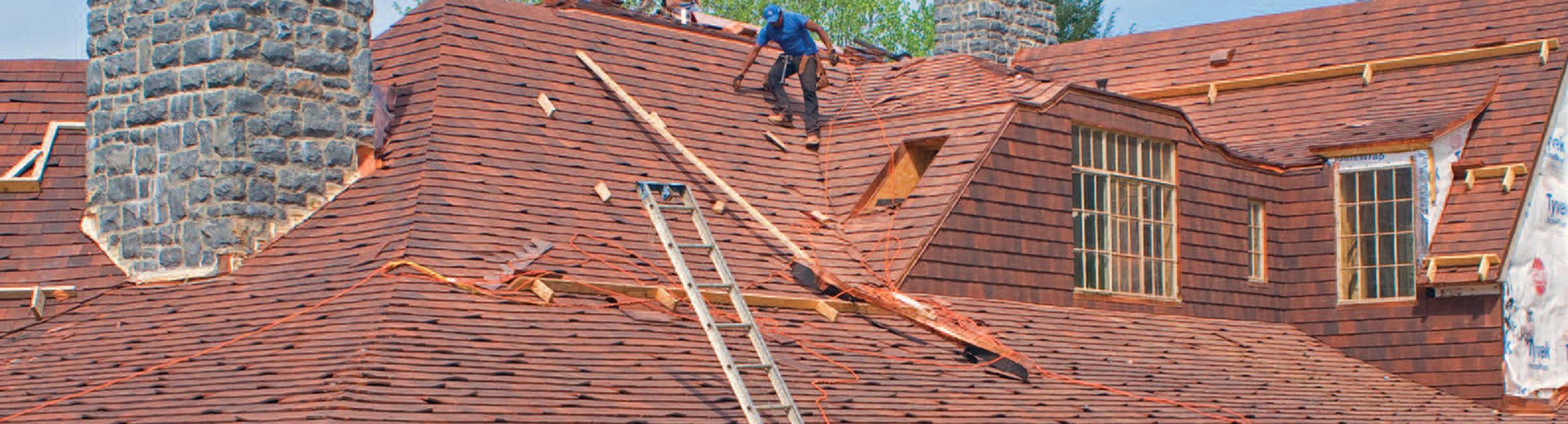 Copper Nails Roof Tiles
