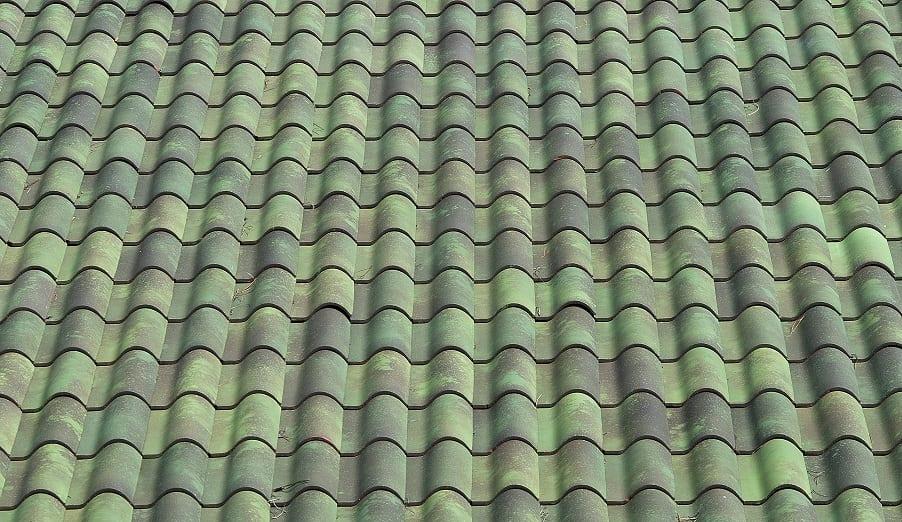 Field Green Impressionist Tile Color