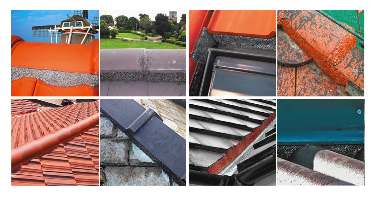 Flexible Flashing Roof Tiles