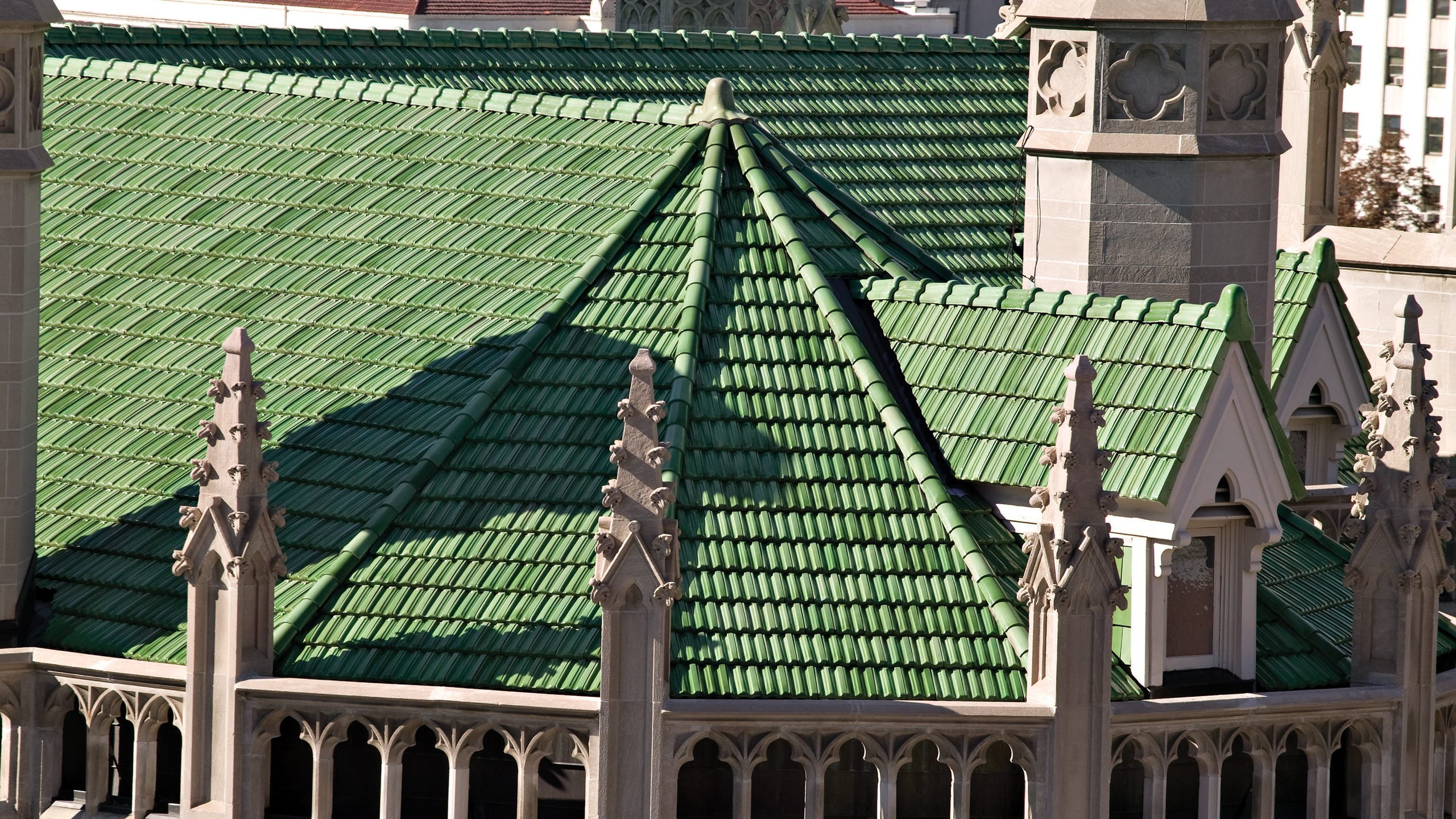 Cathedral Basilica of the Immaculate Conception Ludowici Roof Tile