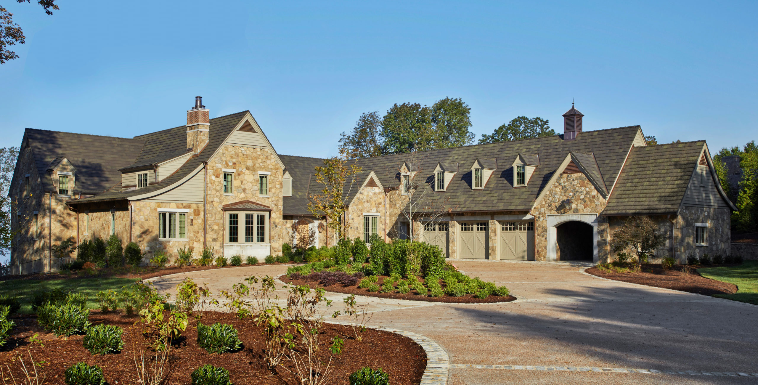 Lookout Mountain Residence Ludowici Roof Tile