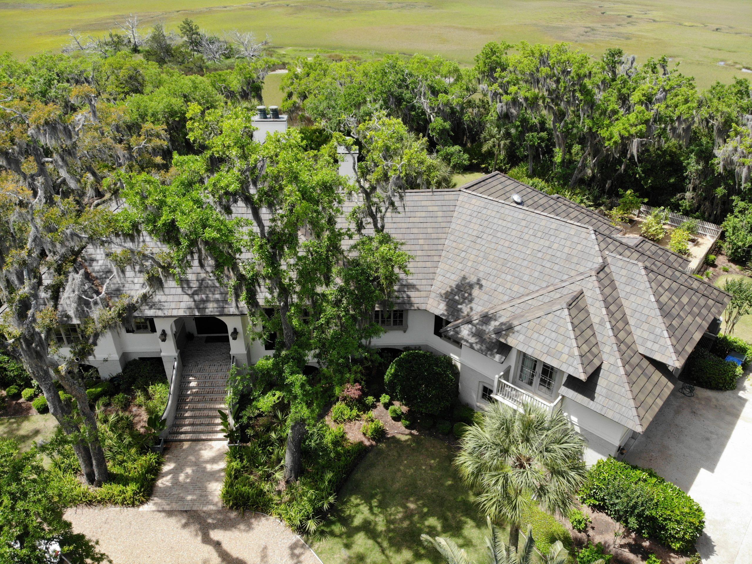 St. Simons Island Residence Ludowici Roof Tile