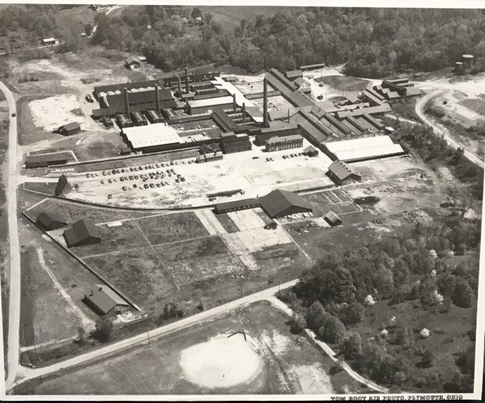 New Lexington Aerial 1954