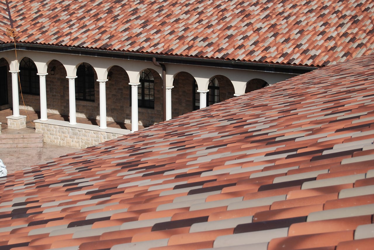 Our Lady of the Angels Monastery Ludowici Roof Tile