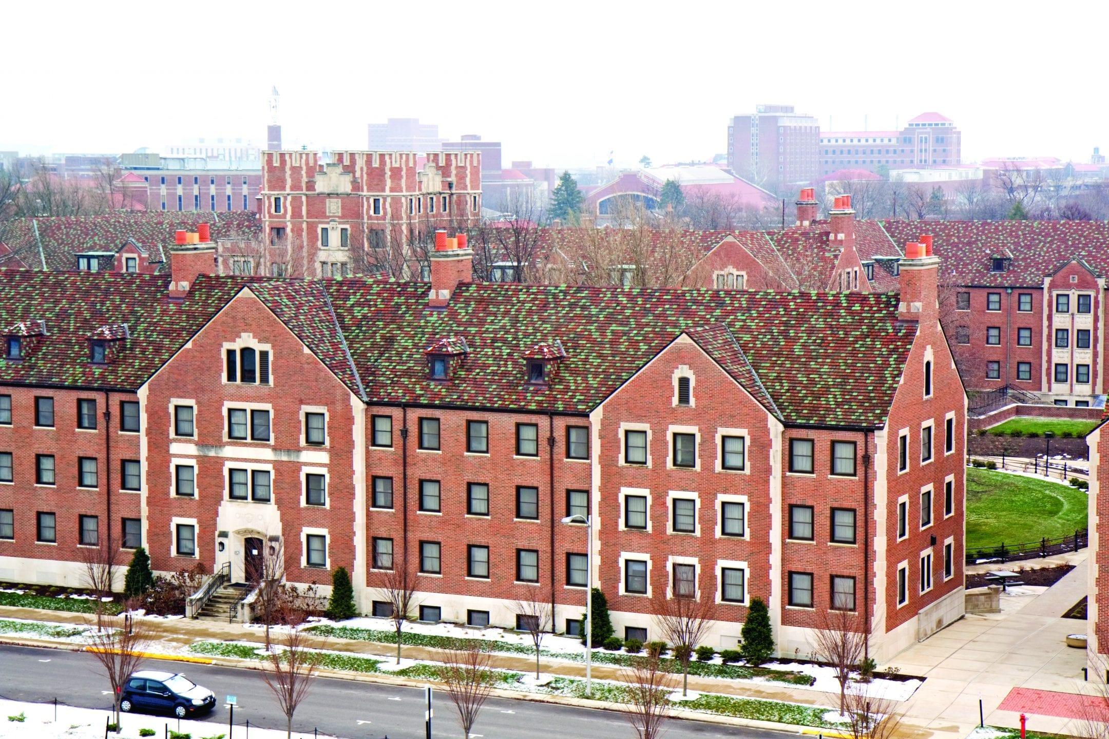 Purdue University Ludowici Roof Tile