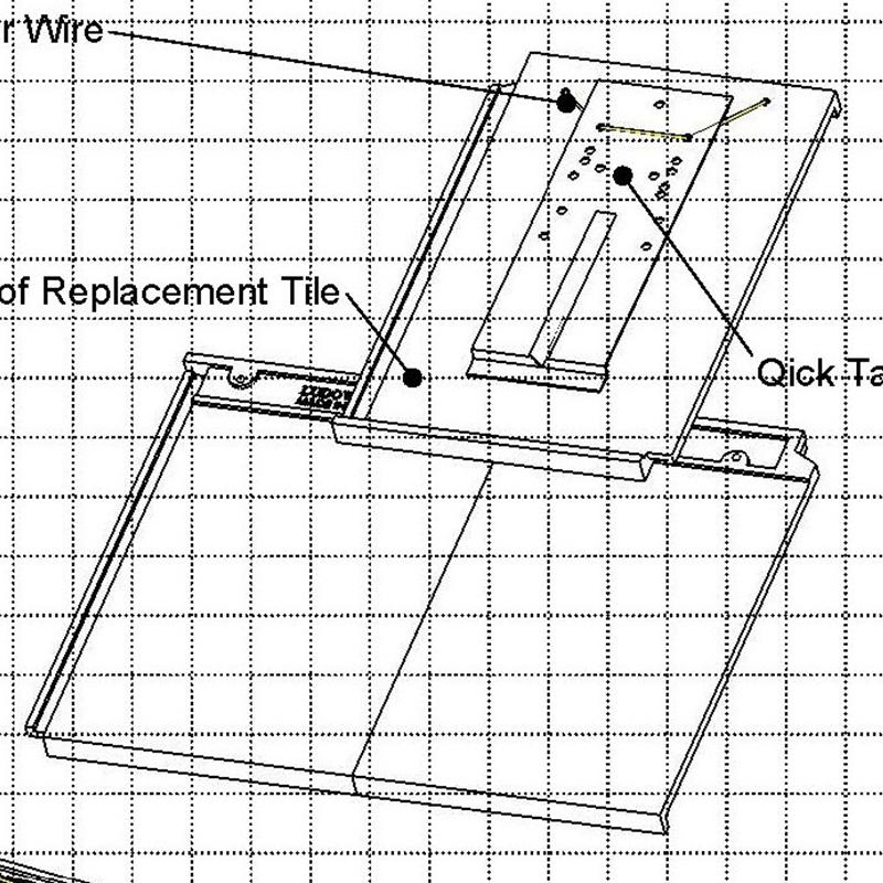 Quik-Tach Brackets Roof Tiles