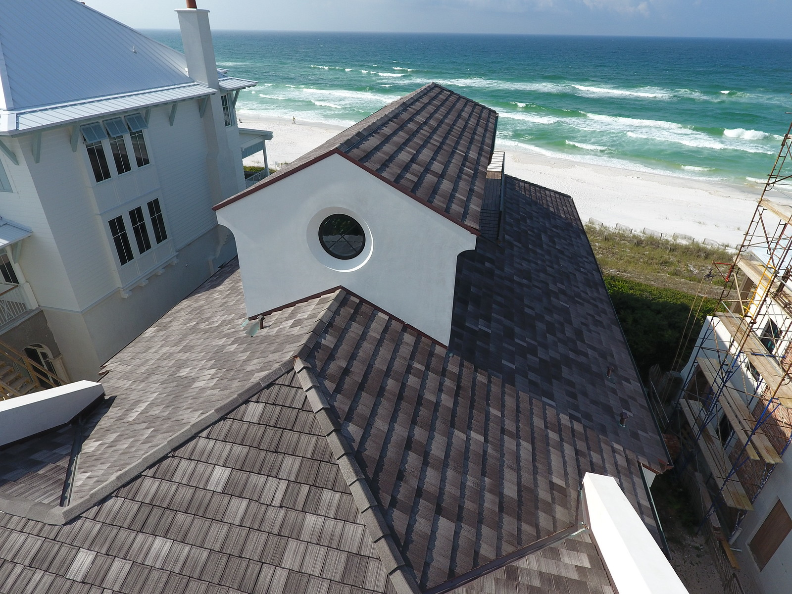 Private Residence - Seagrove Beach, FL  Ludowici Roof Tile