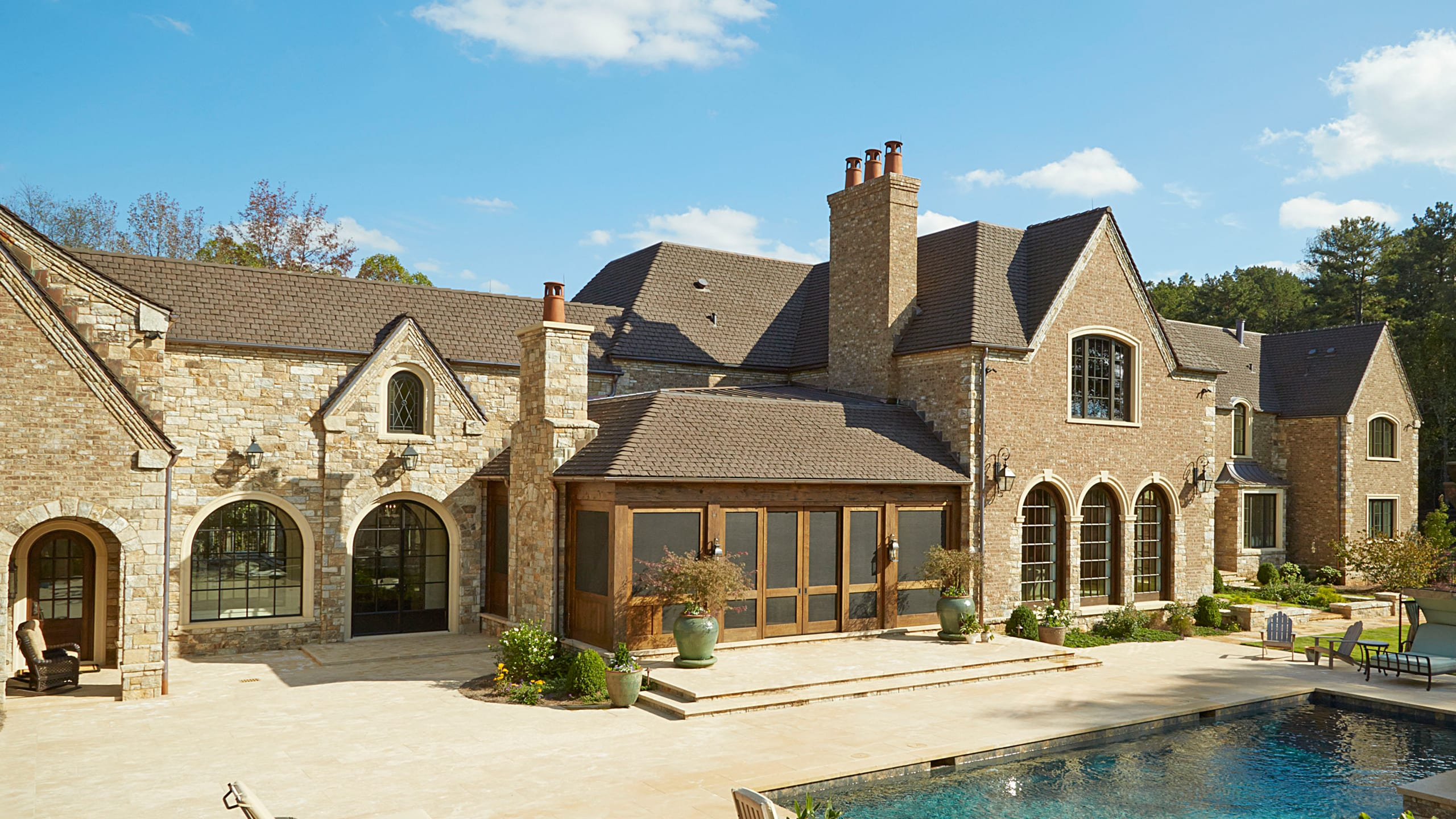 Private Residence - Marietta Ludowici Roof Tile