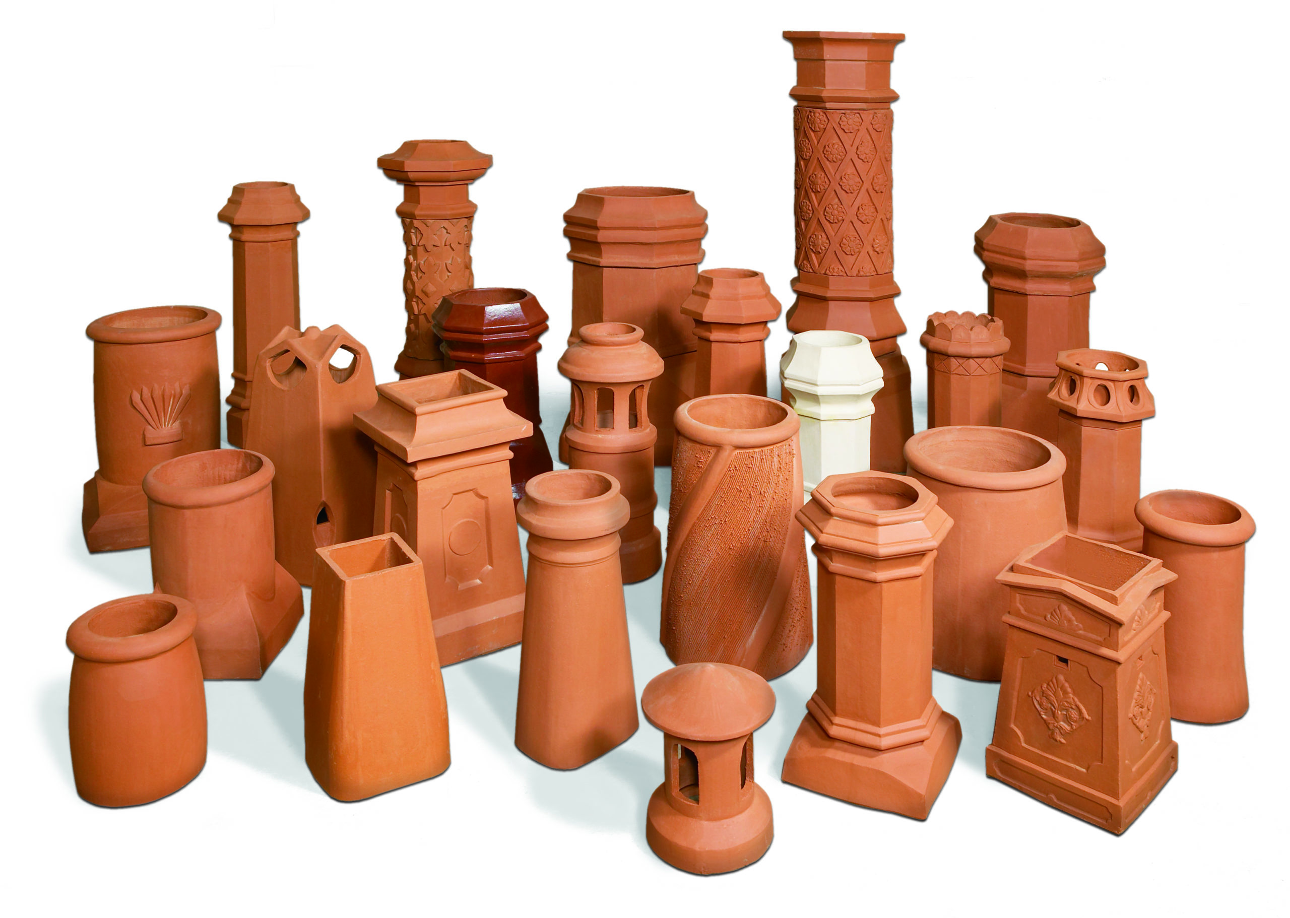 Chimney Pots & Wall Copings Roof Tiles