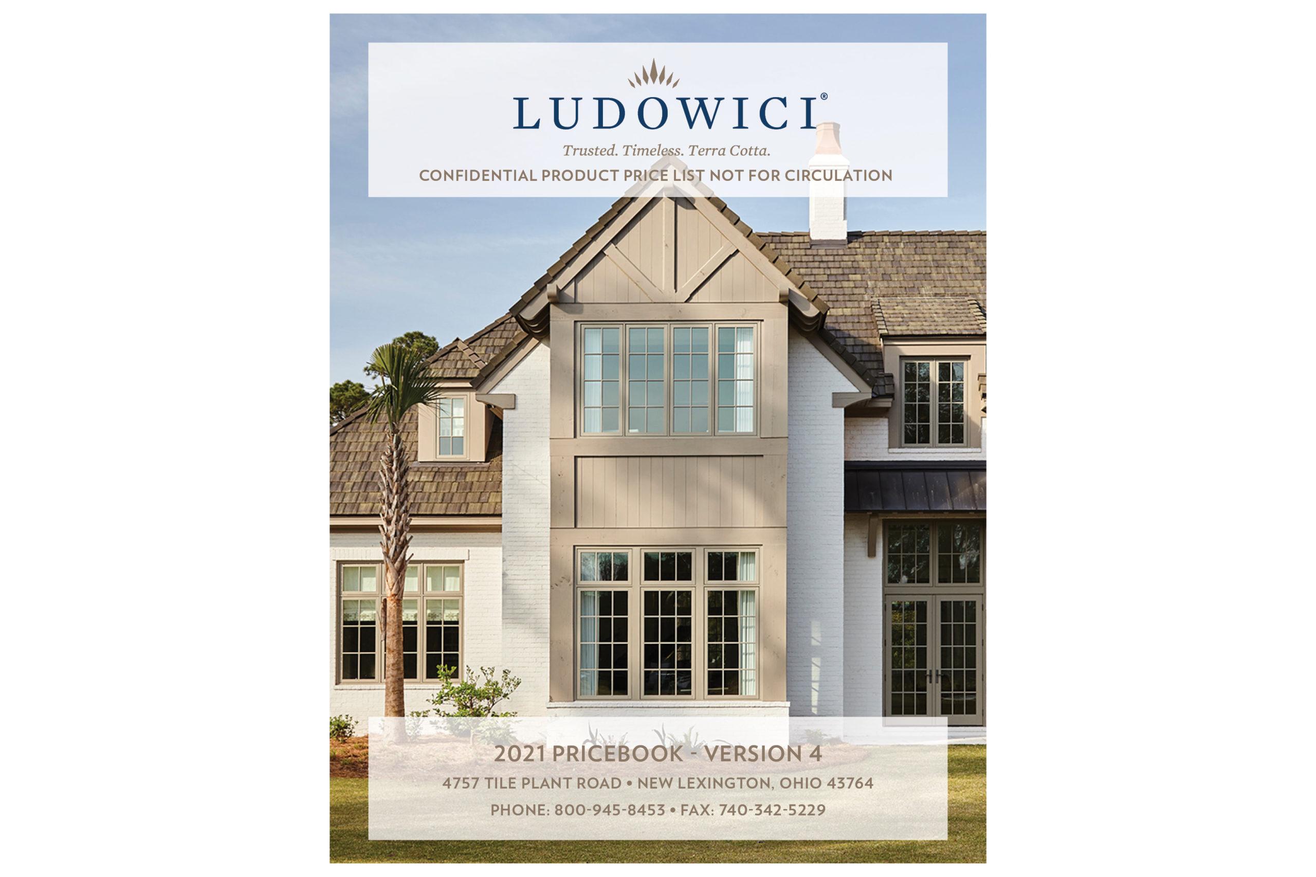 2021 Ludowici Price Book – Version 4