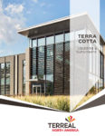 Terreal North America Wall Cladding & Sunscreens Brochure