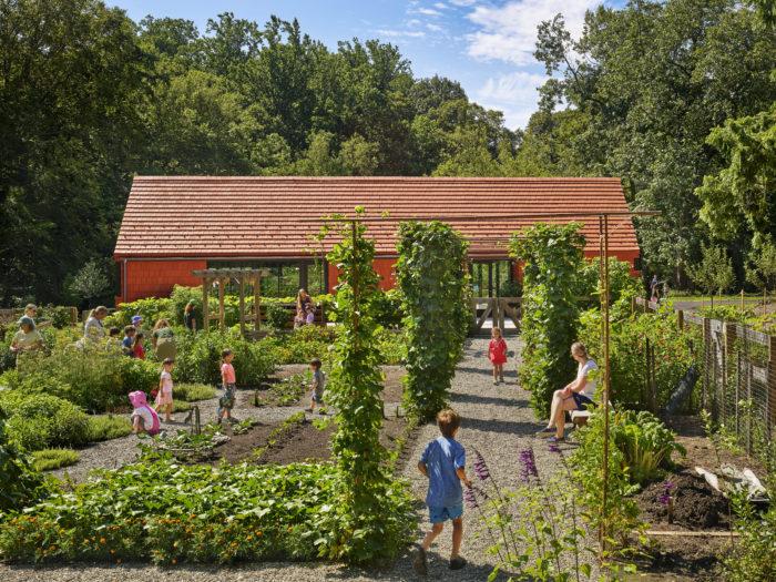 Tyler Arboretum 29 NeXclad Lanai 14 Historic Red
