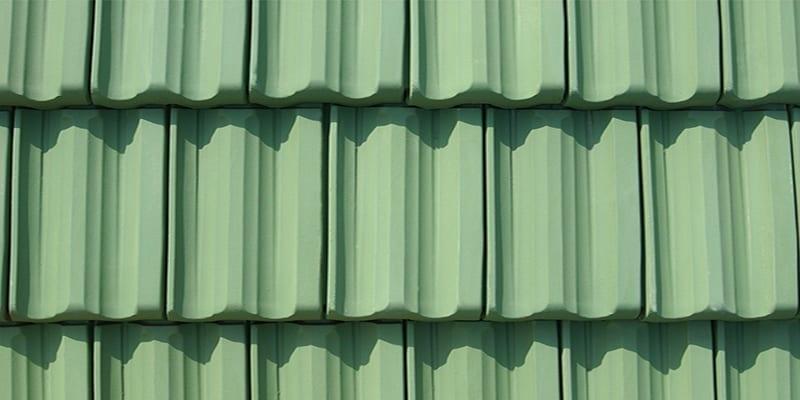 Vintage Green Ludowici Roof Tile