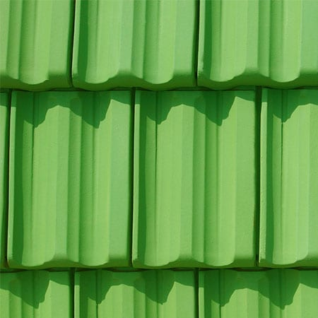 Bright Green Single Spay Tile Color