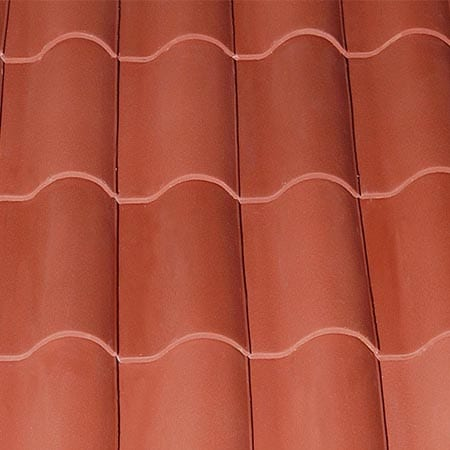 Burgundy Single Spay Tile Color