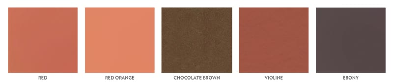 Terra Cotta Colors for Diabolo Paver System from Terreal