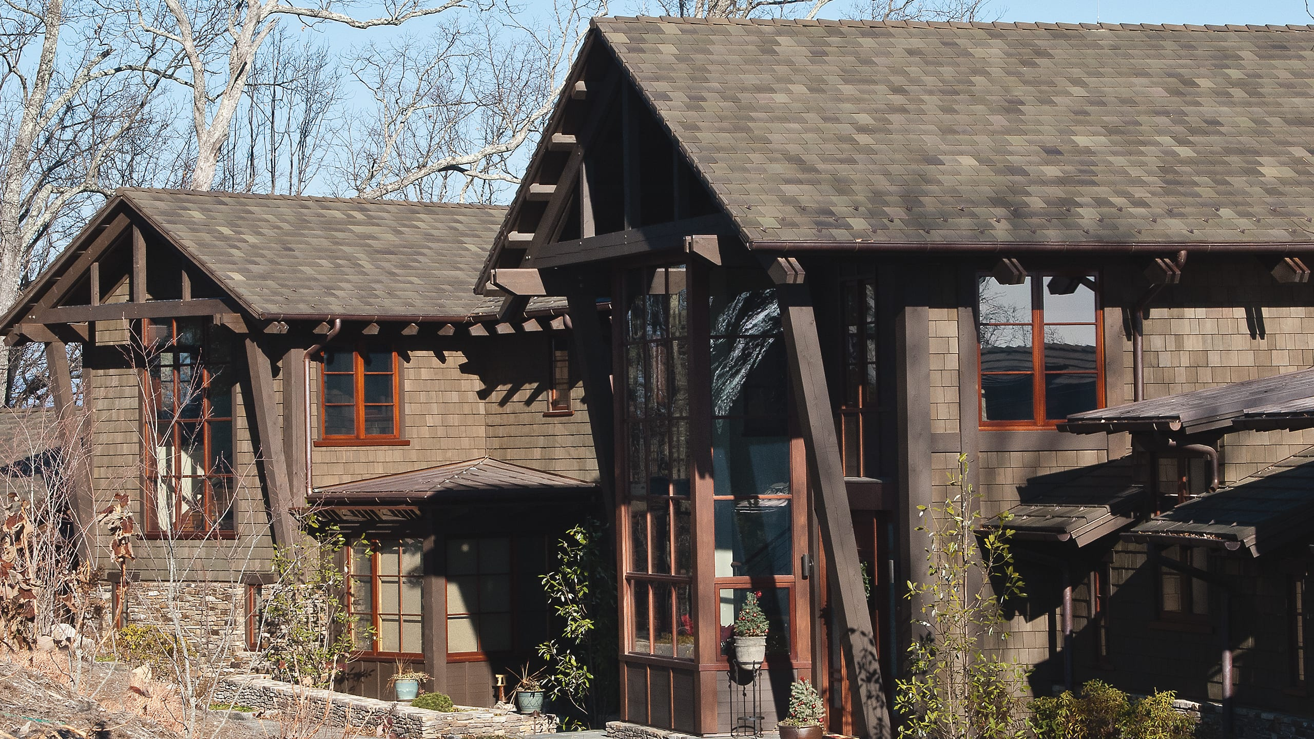 Private Residence - Asheville Ludowici Roof Tile