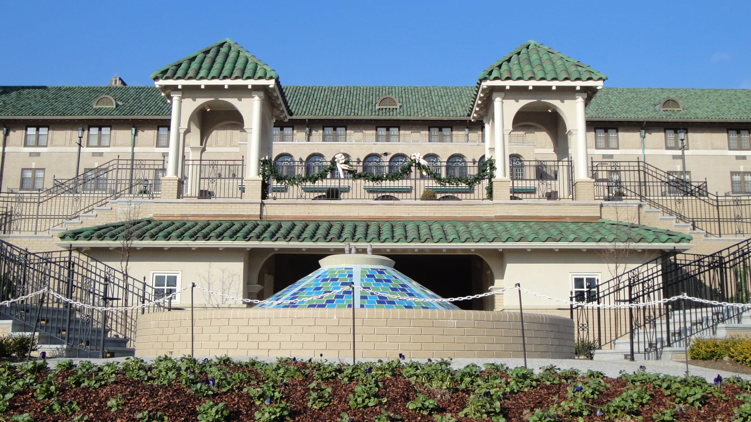 Hotel Hershey Ludowici Roof Tile