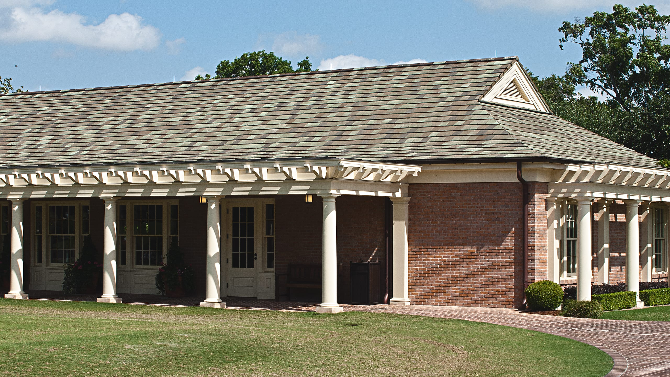 Houston Country Club Pro Shop Ludowici Roof Tile