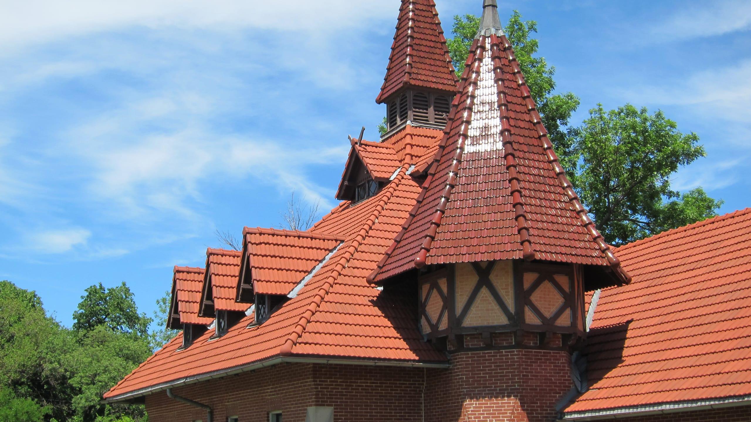 Humboldt Park Stables Ludowici Roof Tile