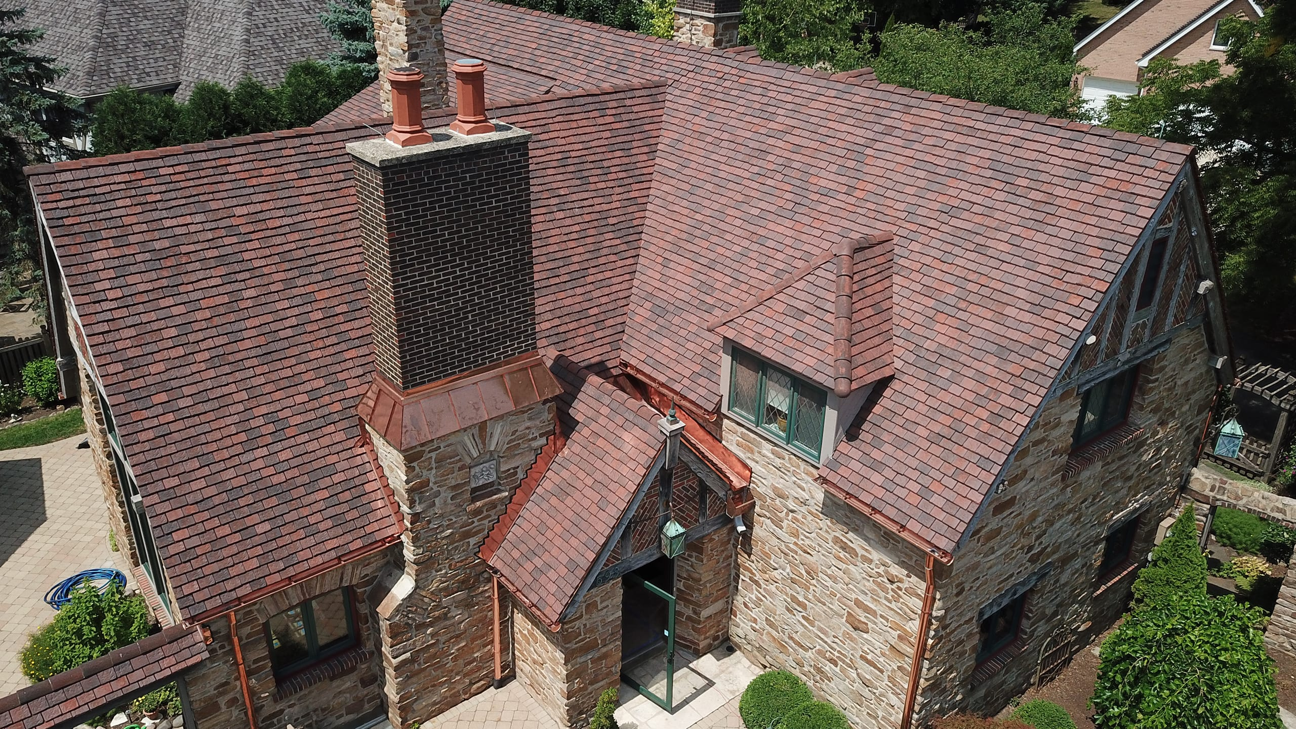 Private Residence - Schaumberg, IL Ludowici Roof Tile