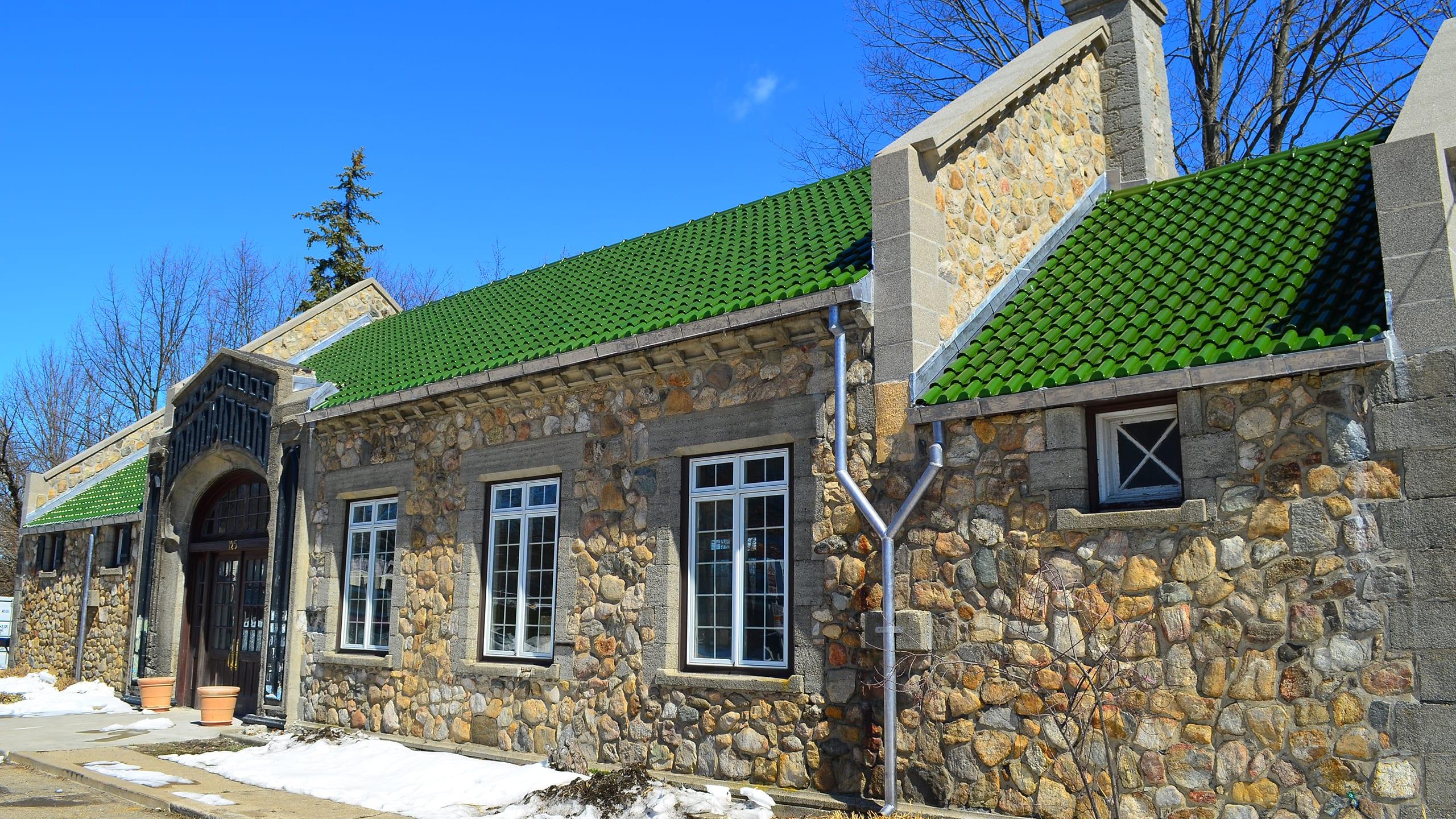 Lake Hopatcong Station Ludowici Roof Tile