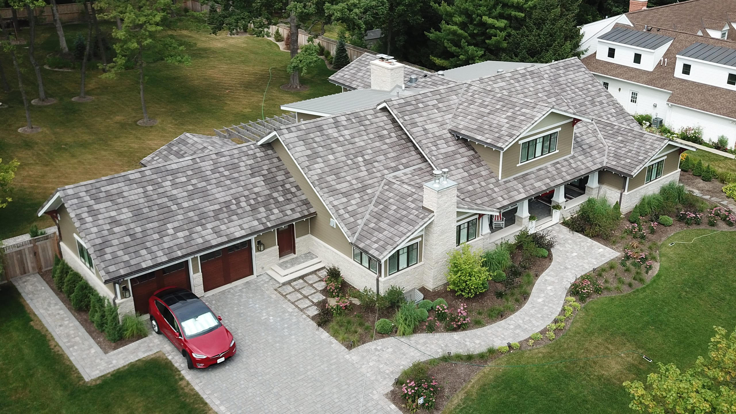 Private Residence - Lake Forest, IL Ludowici Roof Tile