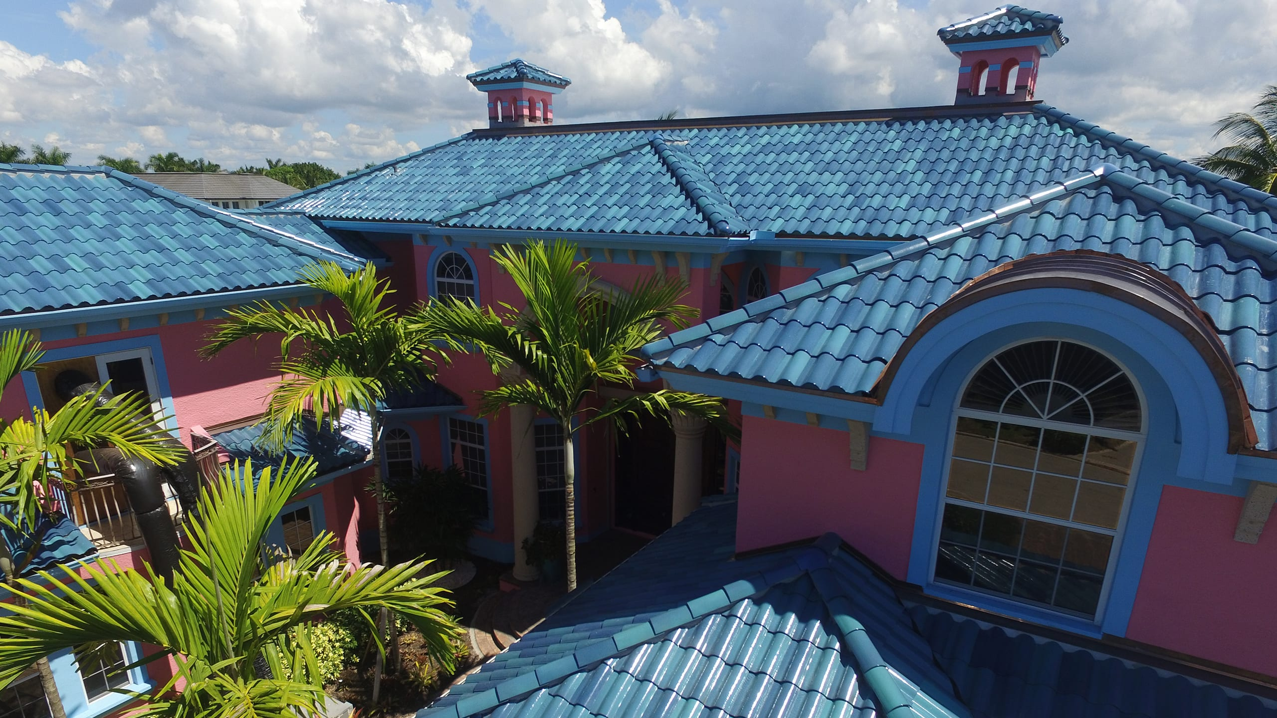 Private Residence - Naples Ludowici Roof Tile