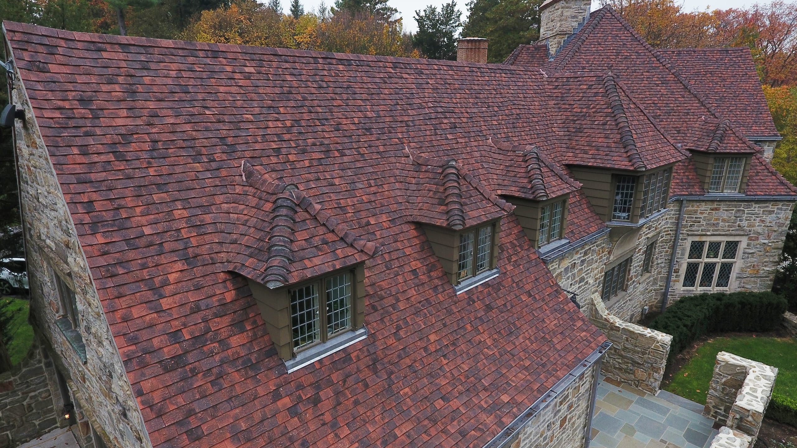 Private Residence - Wyomissing | Ludowici Roof Tile