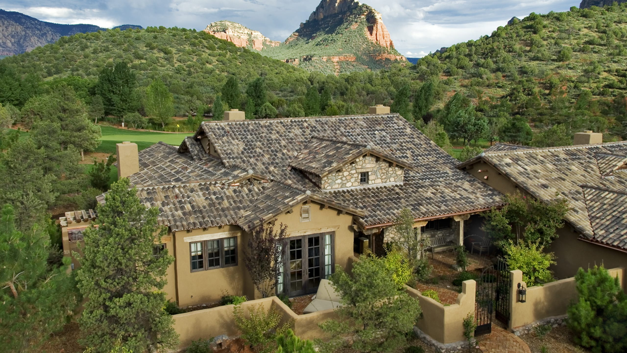The Villas at Seven Canyons Ludowici Roof Tile
