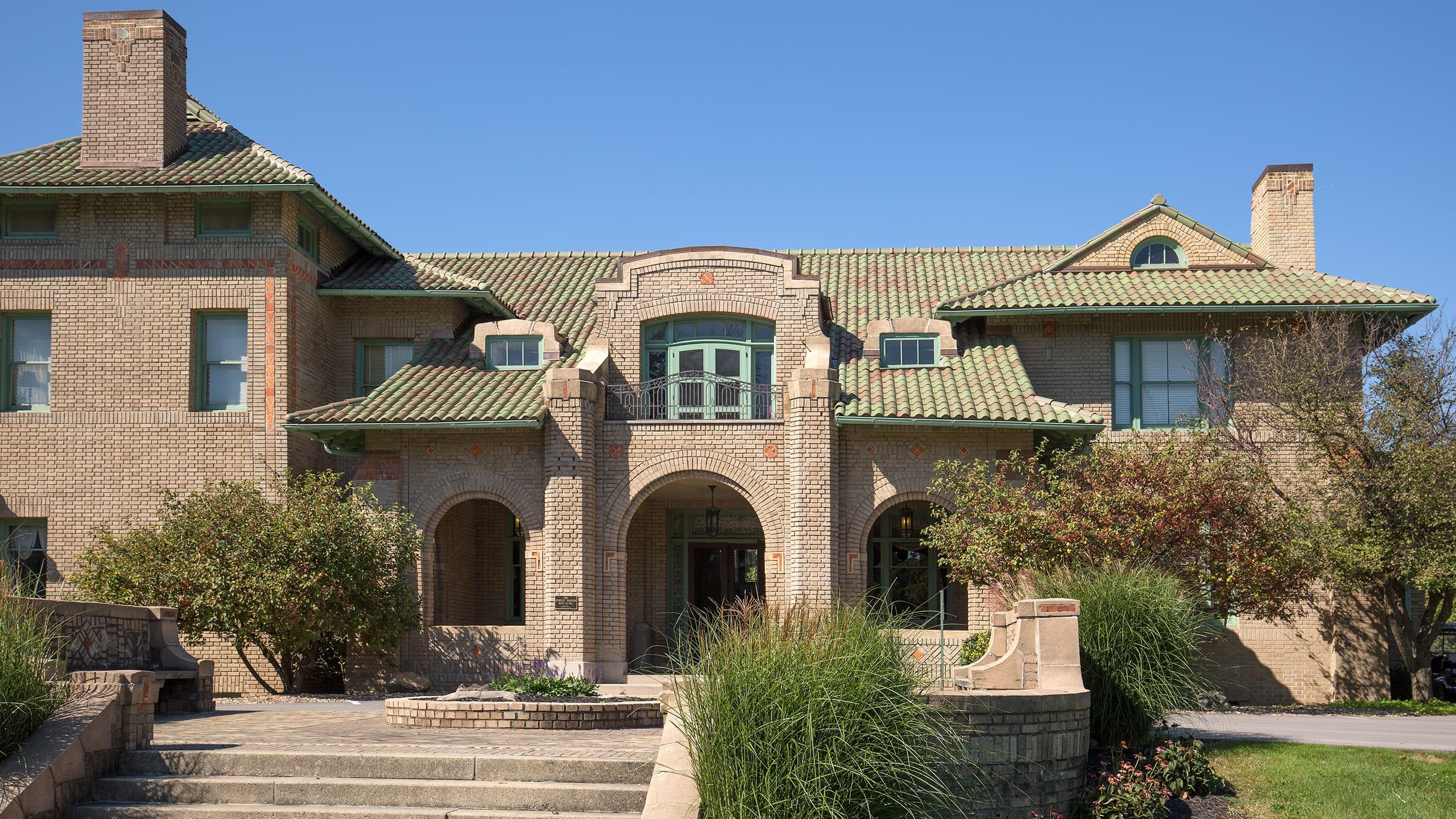 Stokley Mansion Ludowici Roof Tile