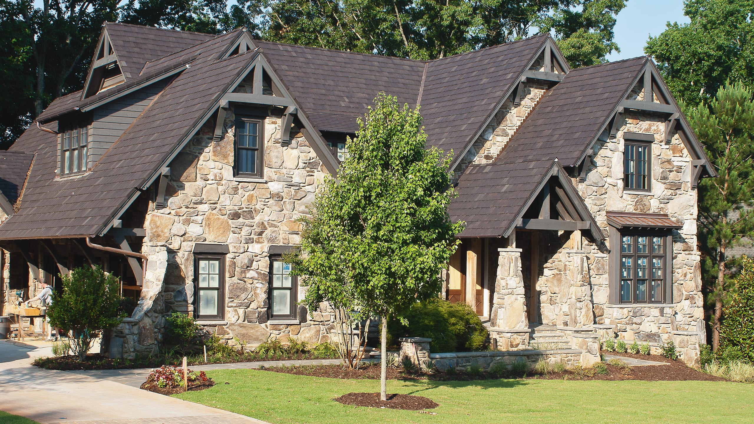 Private Residence - Suwanee Ludowici Roof Tile