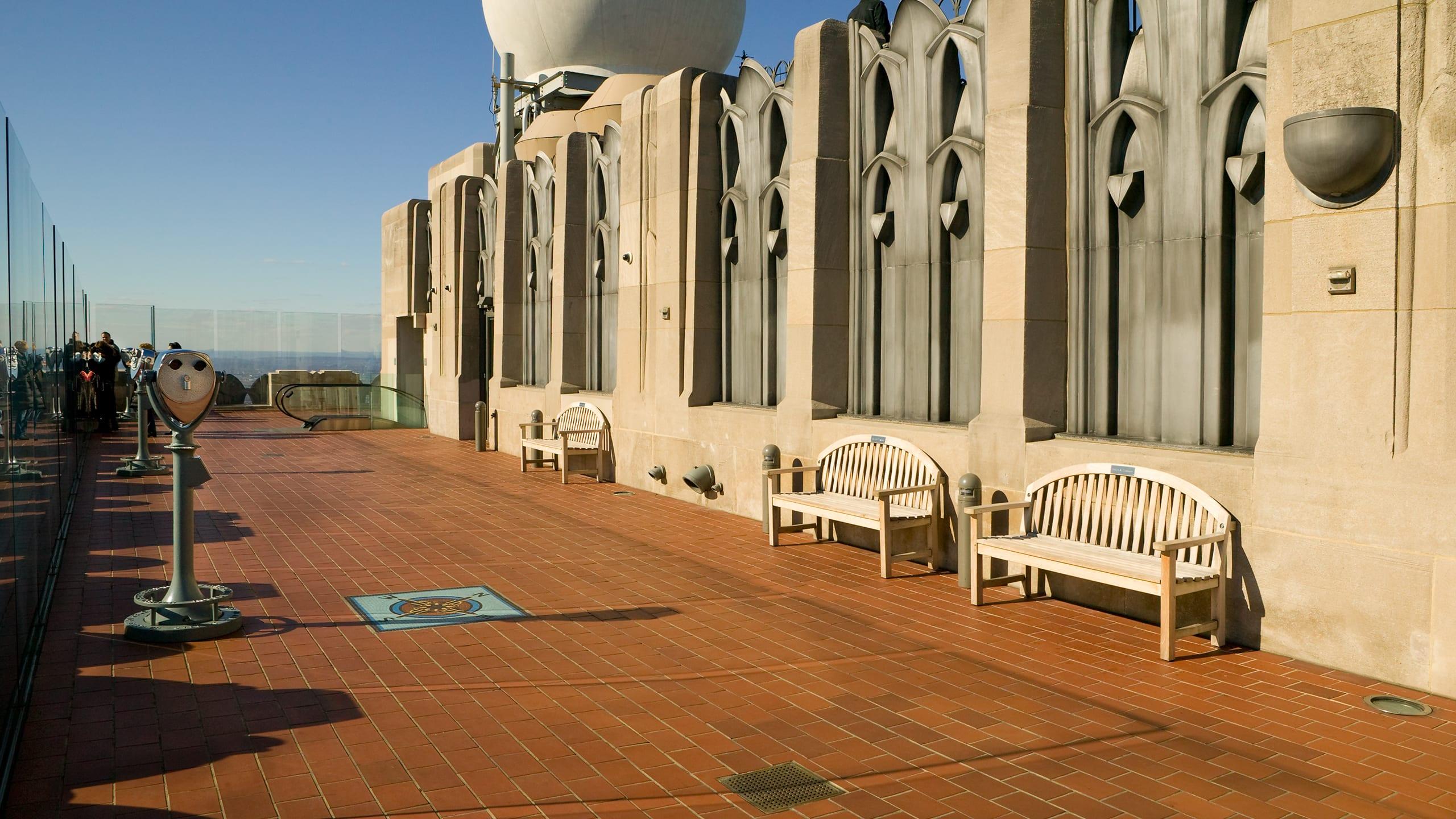 Top of the Rock - Rockefeller Center Ludowici Roof Tile
