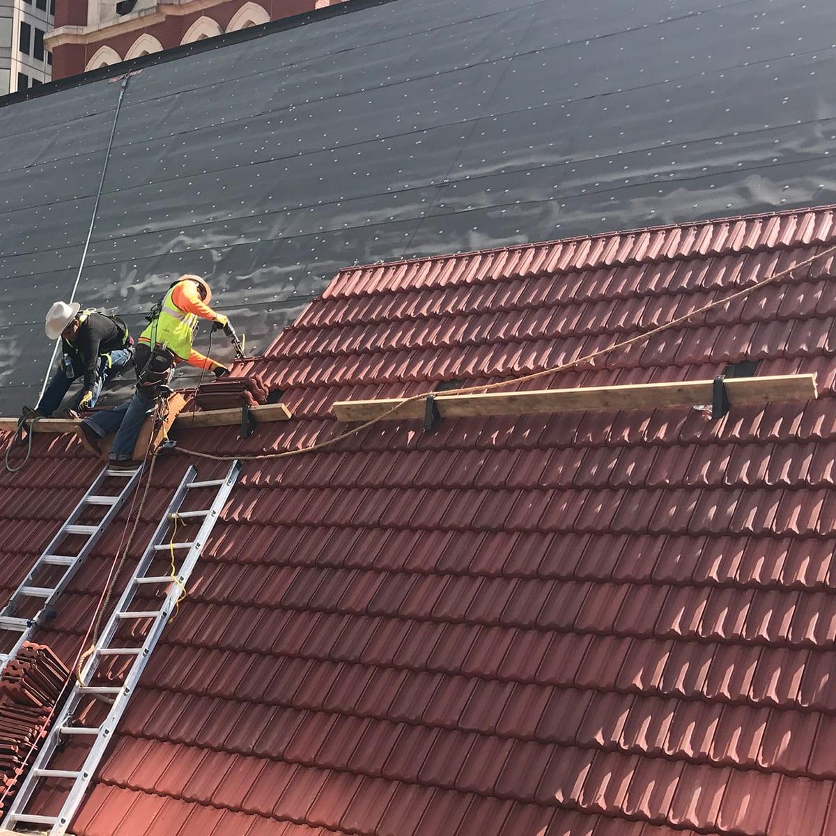 Roof Underlayment & Fasteners