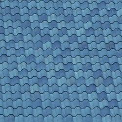 Med Blue Mock Up 2 Ludowici Roof Tile