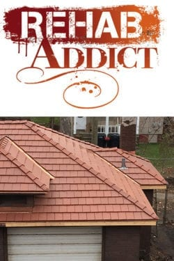 Ludowici Clay Roof Tile Featured on Rehab Addict