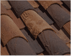 Ludowici roof tile textures